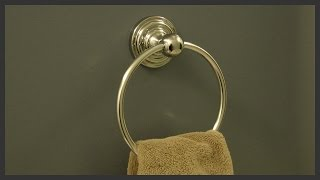 Towel Ring Installation