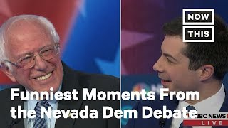 Funniest Moments From the Nevada Democratic Debate | NowThis