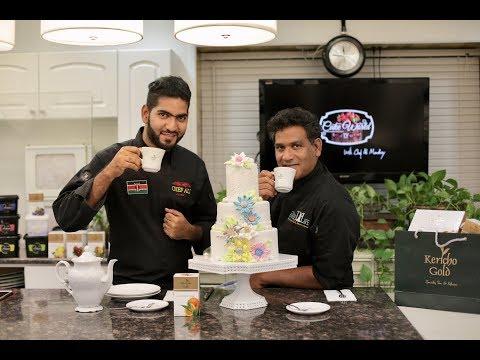 Cake World Tv Episode 4   How to make edible fabric flowers   Chef Ali Mandhry   Chef Zane beg