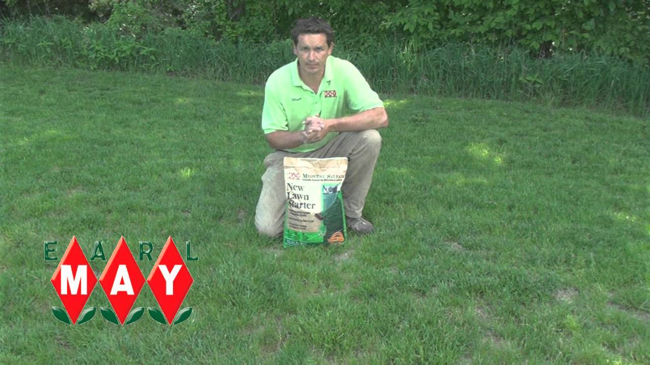 Earl May Garden Center New Lawn Starter Fertilizer YouTube