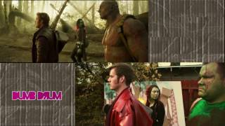 Guardians of the Galaxy Vol 2 Teaser (sweded side by side comparison)
