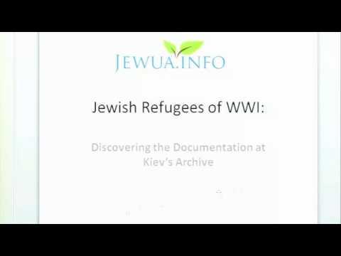 Jewish Refugees of WWI - Nadia Lipes & Alex Lipes