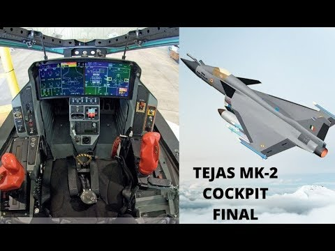 TEJAS MK-2/MWF Cockpit configuration final very similar to F-35
