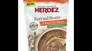 HERDEZ Instant Refried Beans Traditional