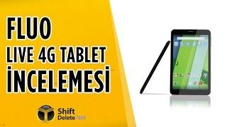 4.5 G Destekli Ucuz Tablet Fluo Live 4G İnceleme