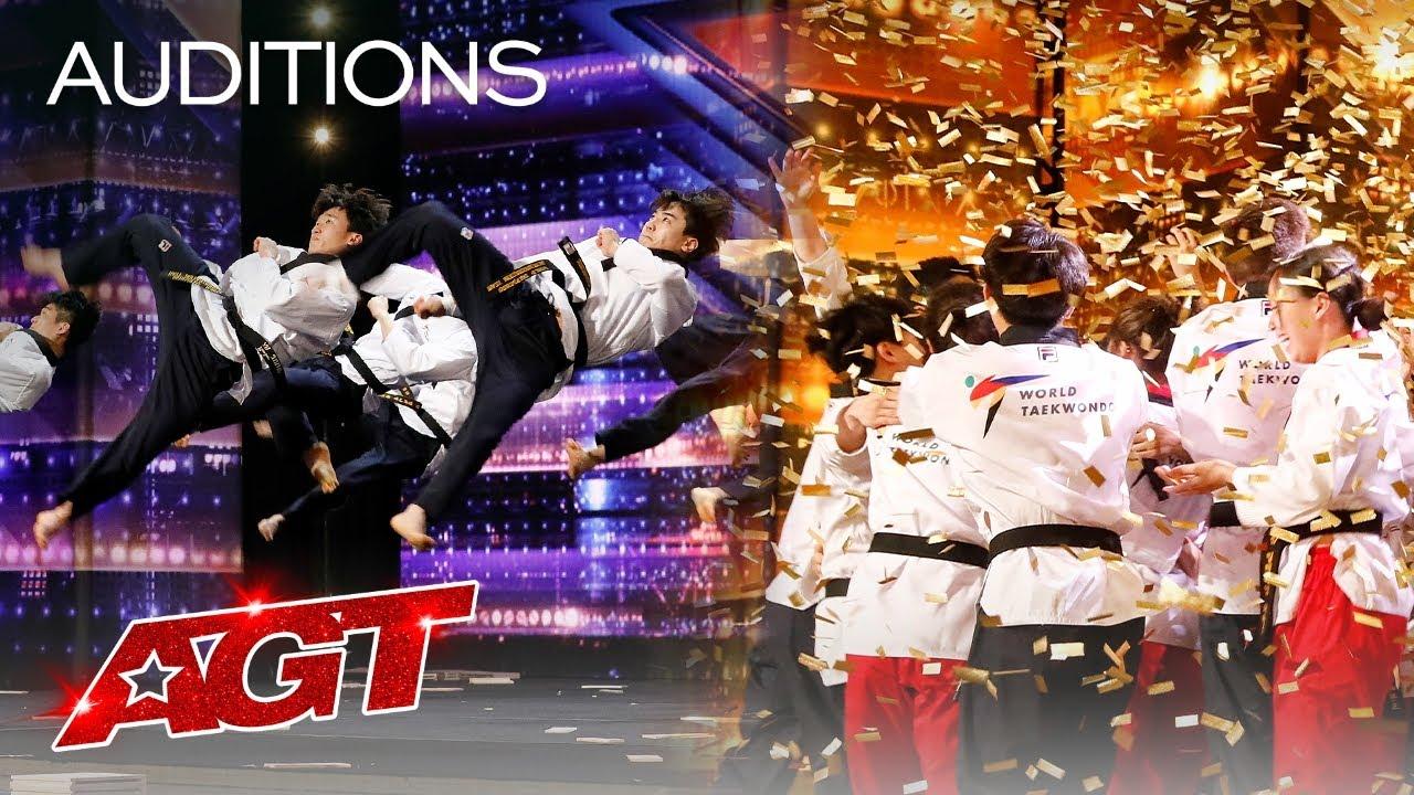 Download Golden Buzzer: World Taekwondo Demonstration Team Shocks the Judges - America's Got Talent 2021