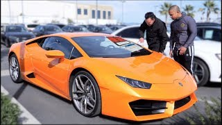 Parking my Lambo at a dealership, then trying to Buy it.