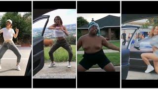 A dança do momento Kiki só as melhores com o carro em movimento