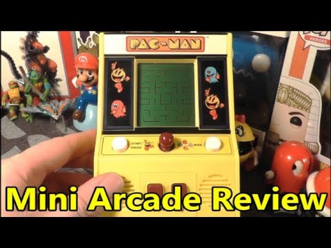 PacMan Mini Arcade Review Basic Fun Arcade Classics #01 - The No Swear Gamer