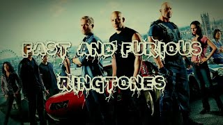 Fast & Furious Rintone Collection / Download Now