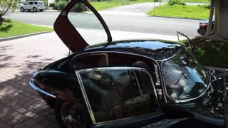 1966 Jaguar E-Type Series 1 Coupé overview & road test | now available from classicshowcase.com
