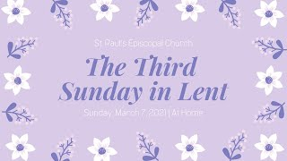 The Third Sunday in Lent