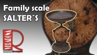 Family scale SALTER´S.  Jak opravit staré váhy.