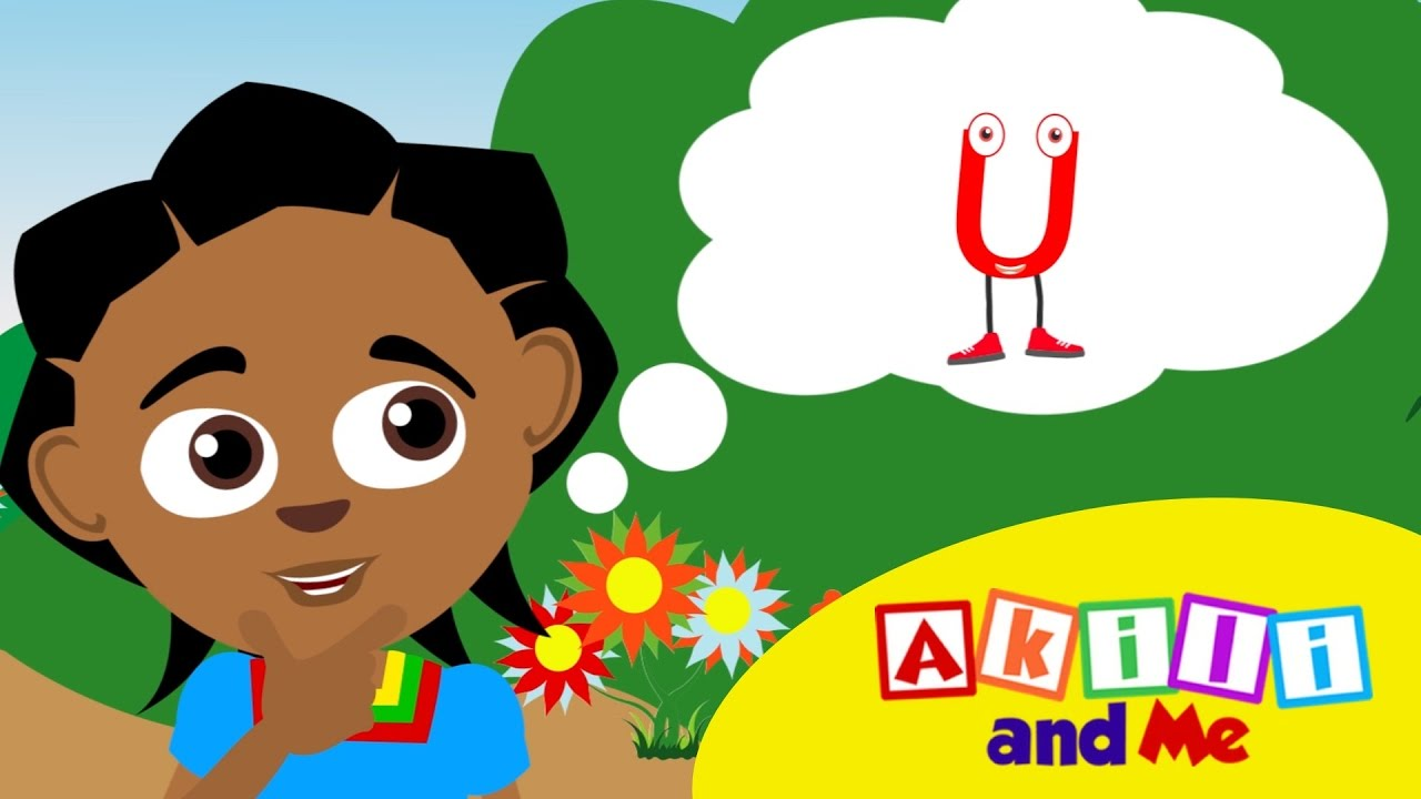 The Letter U Song | Educational phonics song from Akili and Me, African Animation!