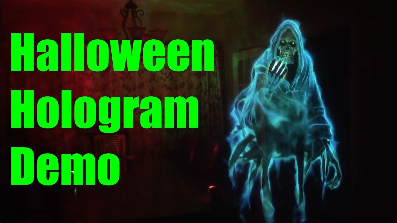 Halloween Hologram Demo   Phantasms By AtmosFearFX