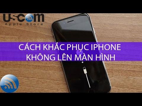 Cách khắc phục lỗi iPhone không lên màn hình, bị tối đen