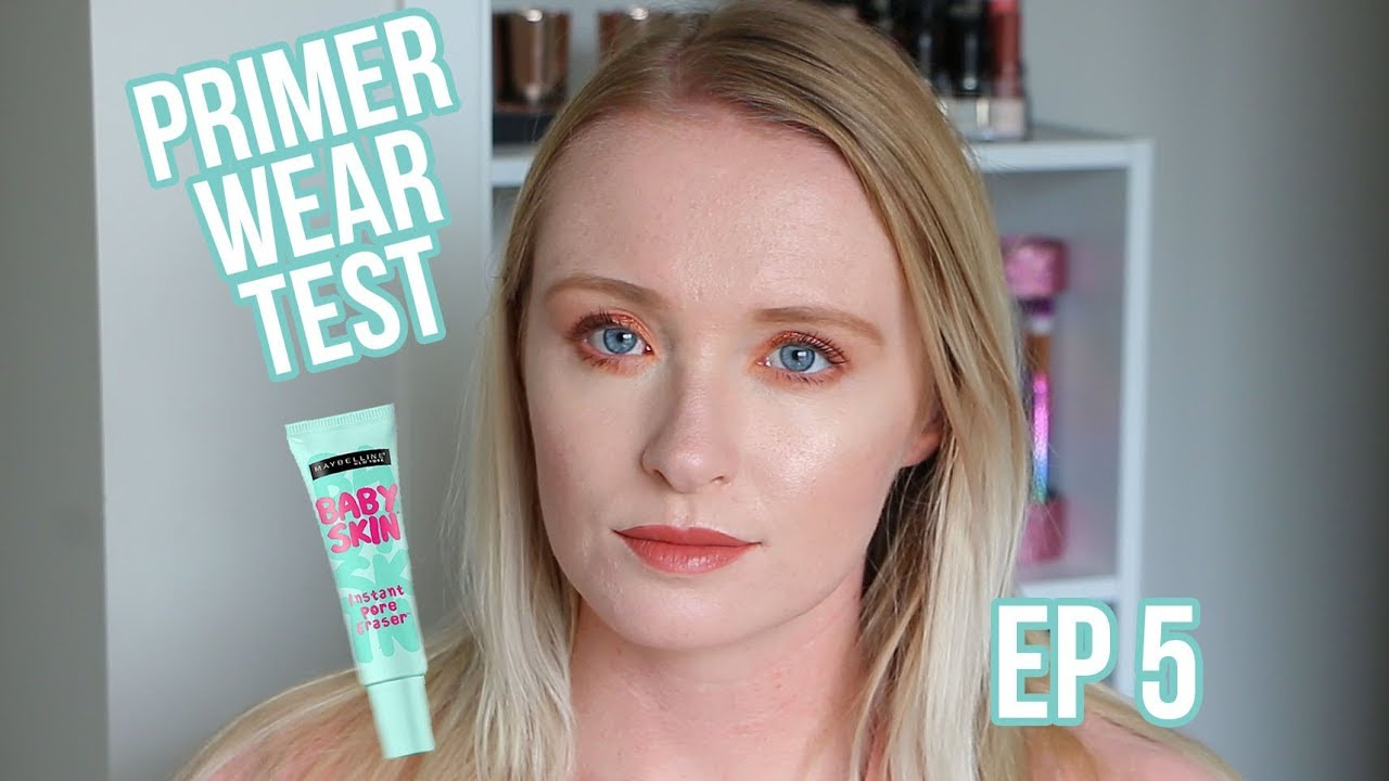 Primer Wear Test Ep 5 Maybelline Baby Skin Instant Pore Eraser Maybellinebaby Oily