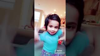 One plus one two mama song |Rowdy baby(maari2)  dubsmash by hanika baby