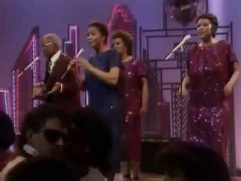 The Staple Singers - Slippery People [+Interview] Soul Train 1984