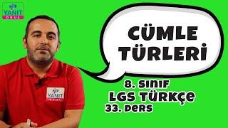 Cümle Türleri | 2021 LGS Türkçe Konu Anlatımları | Yanıt Okul