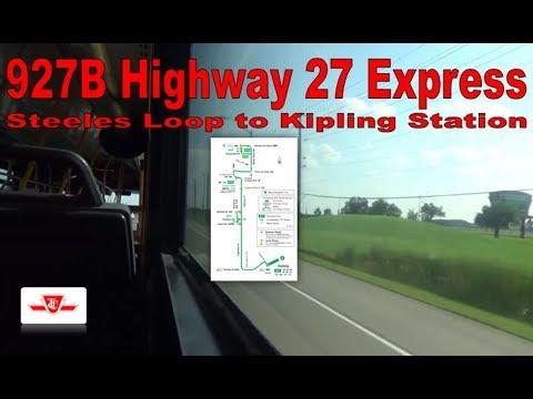 191B Highway 27 Rocket - TTC 2006 Orion VII 7922 (Steeles Loop to Kipling Station)