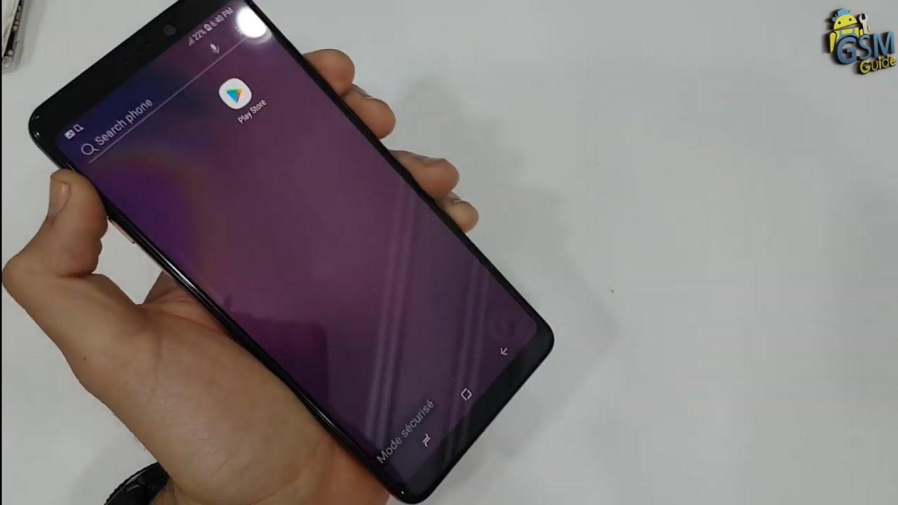 Samsung A9 SM-A920F exit Safe Mode How To -Gsm Guide