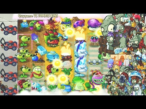 Plants vs Zombies 2 MOD: All Plants Pvz 2 Vs All Zombies Pvz 2: Gameplay 2017