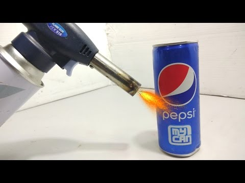 Thumbnail: Pepsi Can VS Gas Torch ( Experiment )