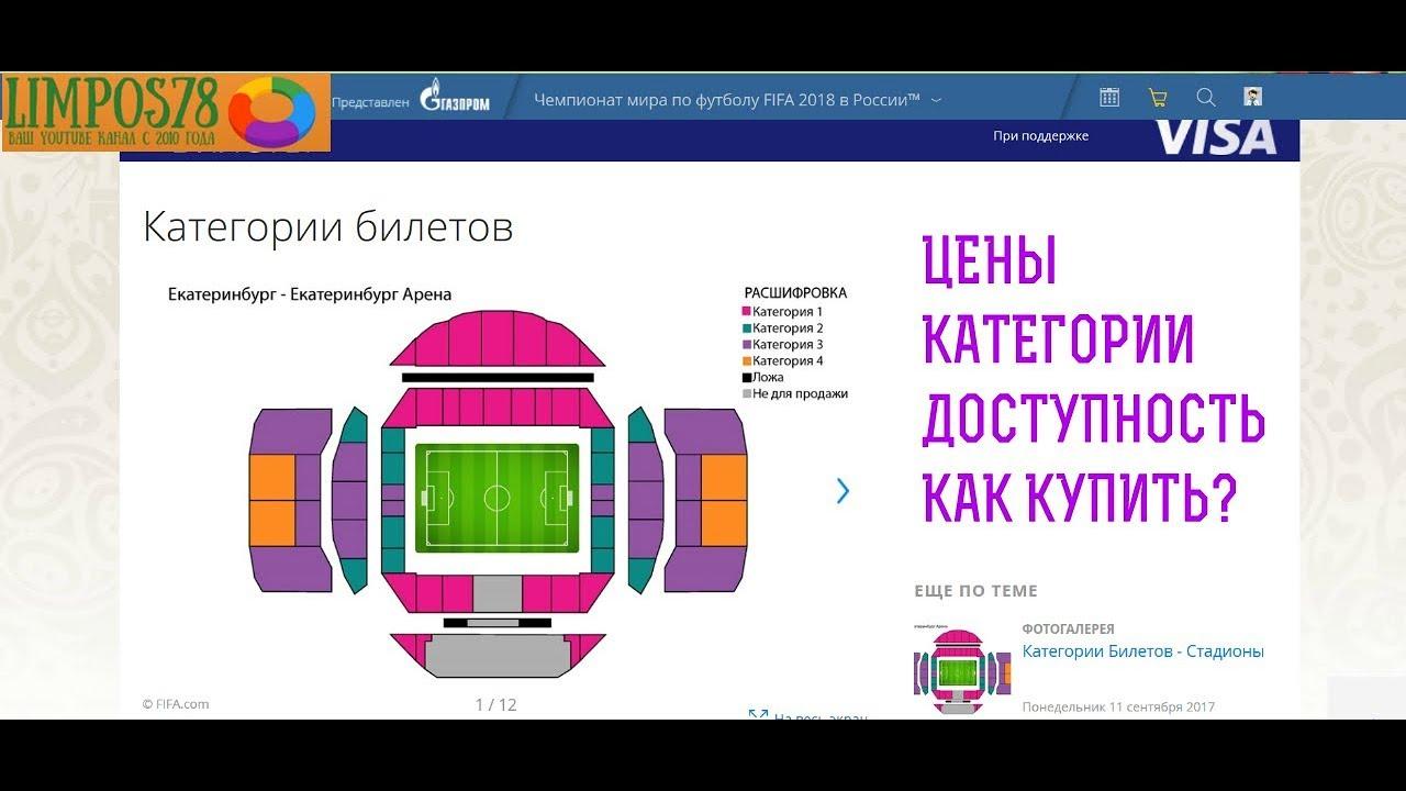 Как я покупал билеты на ЧМ 2018 по ФУТБОЛУ. Обзор, цены, наличие. #1