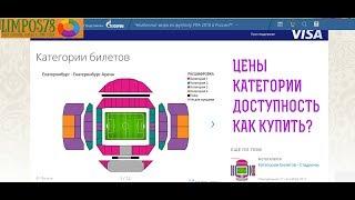 Как я покупал билеты на ЧМ 2018 по ФУТБОЛУ. Обзор, цены, наличие.
