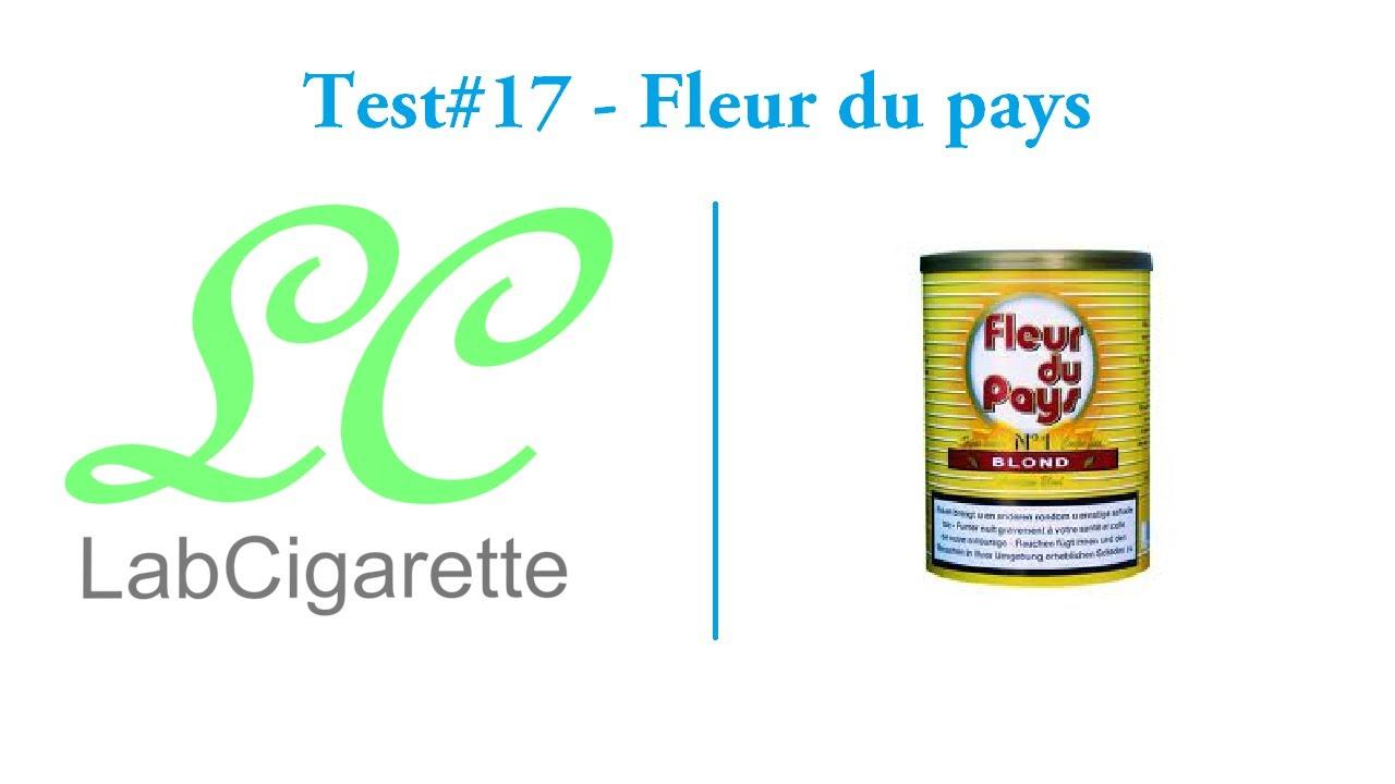 Test 17 Fleur Du Pays Tabac A Rouler Youtube