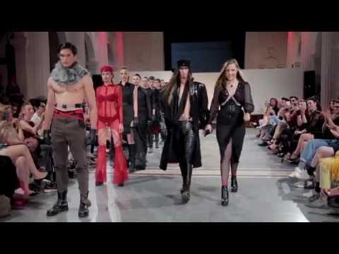 """Katarina Bozickovic """"Der Krieg"""" fashion show"""