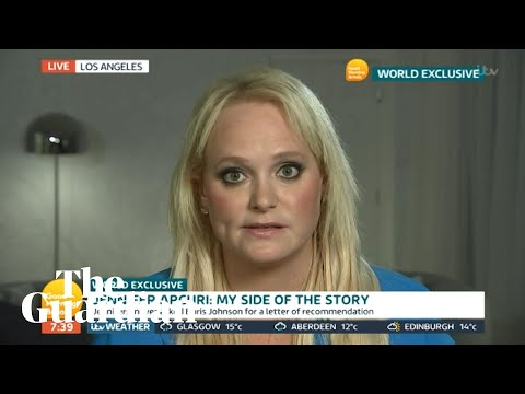Jennifer Arcuri refuses to deny claims of affair with Boris Johnson