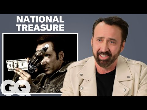 Nicolas Cage Breaks Down His Most Iconic Characters | GQ