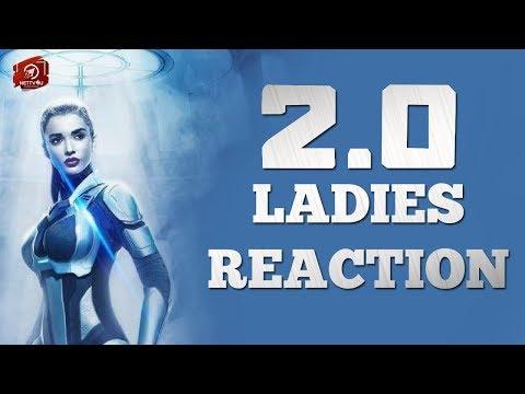 Ladies Reaction For 2.0 Movie   Amy Jackson   Rajinikanth   Akshay Kumar   Shankar