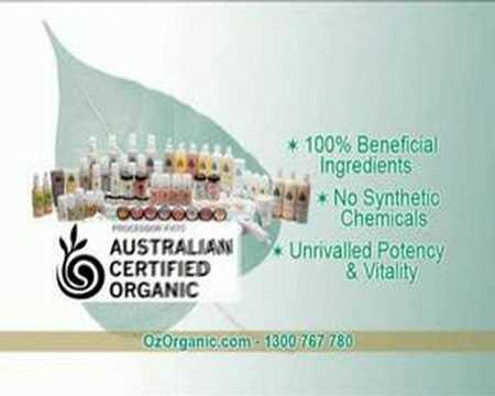Organic Product Ad