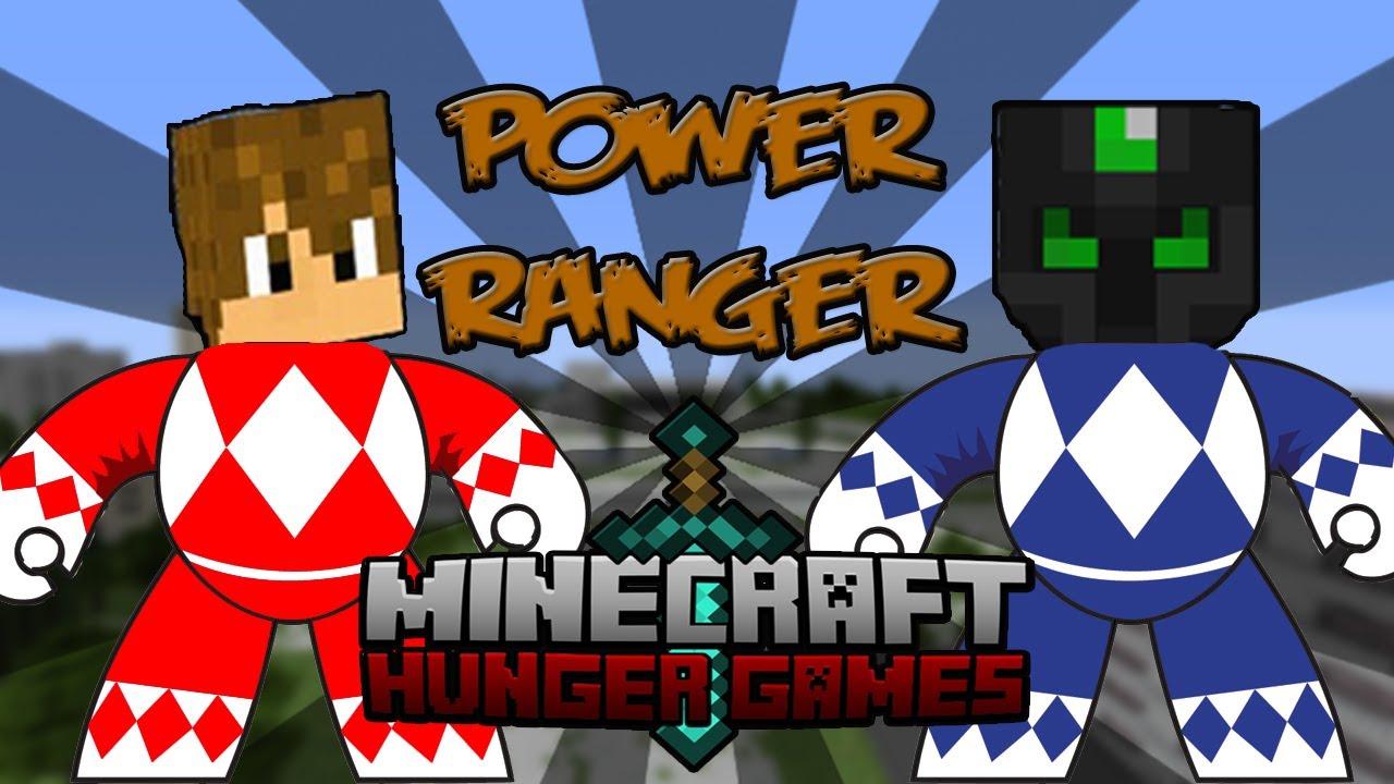 POWER RANGER  MINECRAFT  Juegos del Hambre c Luzu  YouTube