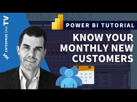 How Many New Customers Do You Have Each Month - Advanced Power BI Analytics