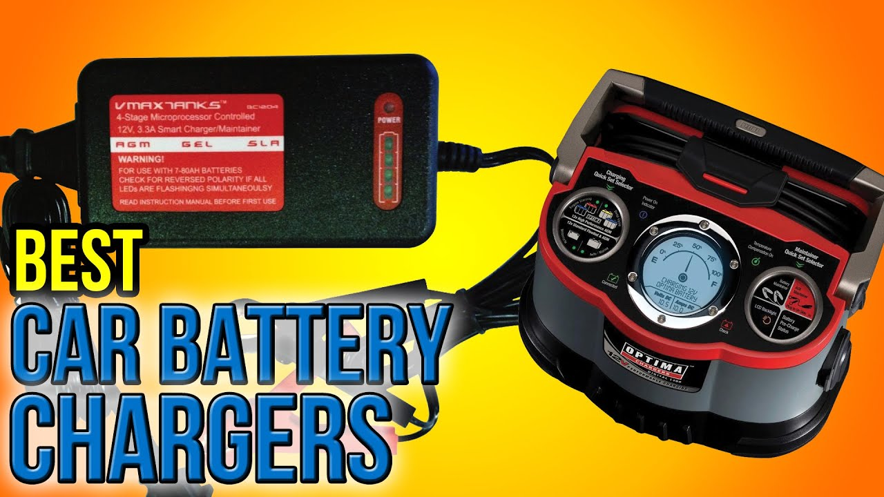 10 Best Car Battery Chargers 2016