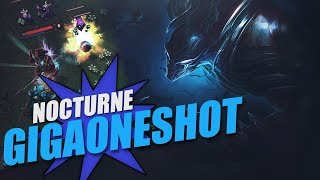Nocturne Jungle Gameplay - Patch 9.18 (League of Legends Gameplay)