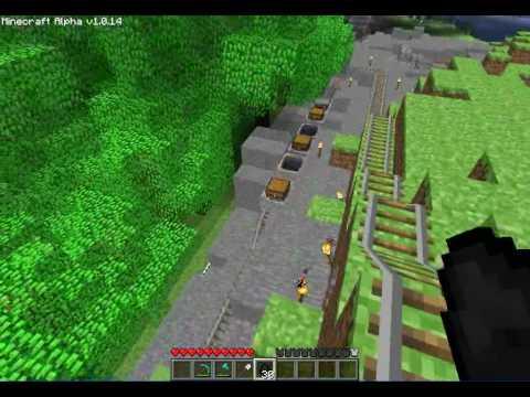 minecraft linking minecarts