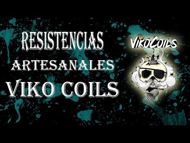 Resistencias Artesanales de alto rendimiento Viko Coils