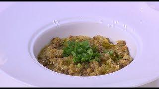 بيض مسلوق - سلطة باذنجان مقلي   طبخة ونص (حلقة كاملة)