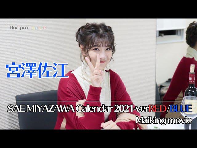 【宮澤佐江】2021年版カレンダーメイキング映像