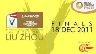 finals 2011 li ning bwf world superseries finals