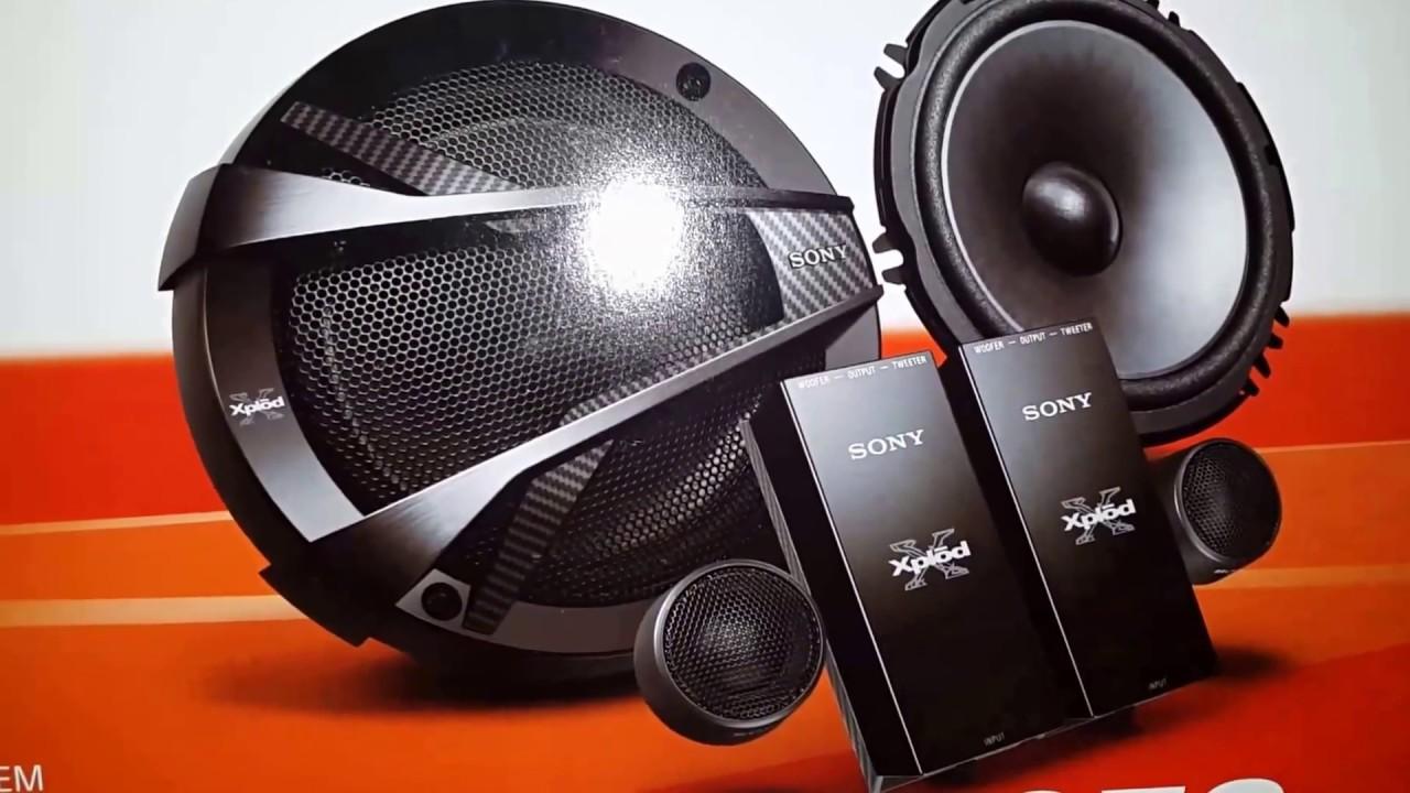unboxing sony xs nc car speaker youtube