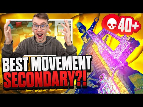 MY BEST GAMEPLAY YET!!! ...with this Secondary??? | (High Kill Warzone Gameplay)