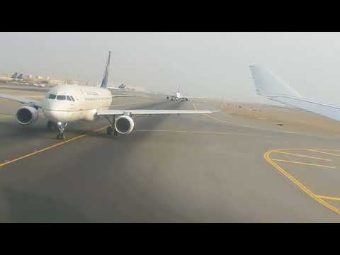 Saudi Airlines takeoff Jeddah airport beautiful 2017 video by hello APK trics