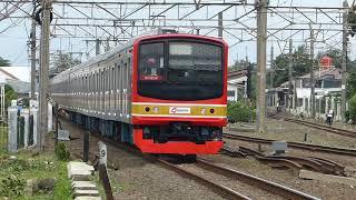 旧JR東日本205系武蔵野線メルヘン顔M62編成 | KRL Eks-JR East Seri 205 Marchen Face Set M62