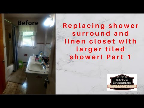 replacing-shower-surround-&-linen-closet-with-larger-tiled-shower!-part-1